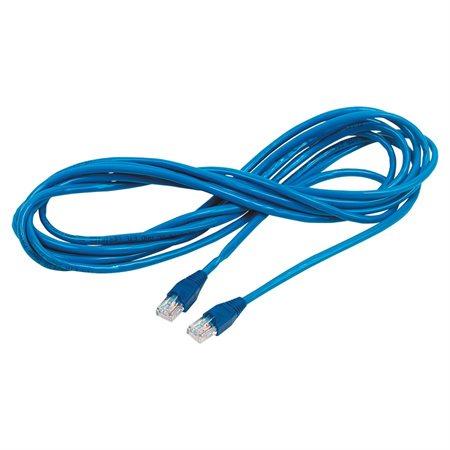 Câble réseau CAT6e - Bleu (125')