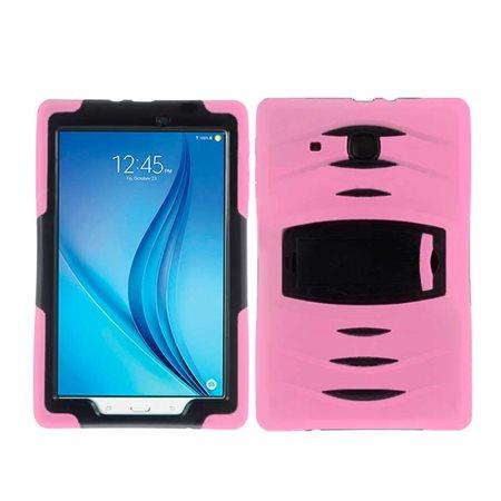 Étui silicone pour Samsung Tab E 9.6'' rose