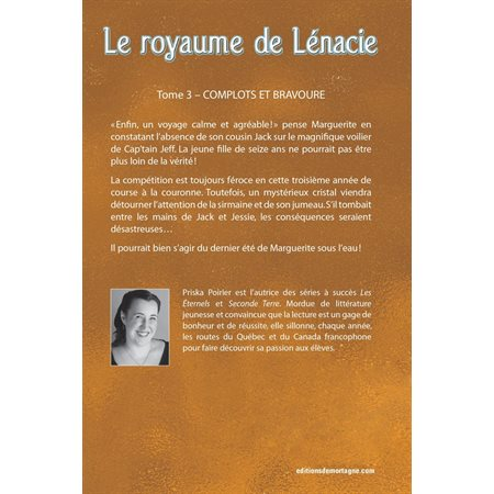 Complots et bravoure, Tome 3, Le royaume de Lénacie