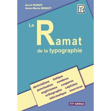 Le Ramat de la typographie (11 éd.)