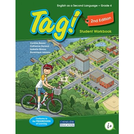 Tag! Cycle 2, year 2, student workbook 2e édition