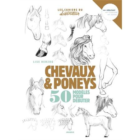 Chevaux & poneys : 50 modèles pour débuter