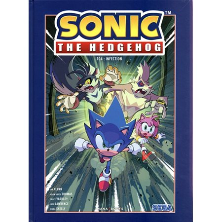 Infection, Tome 4, Sonic the hedgehog