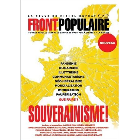 Front populaire, n° 1: Souverainisme !, étté 2020
