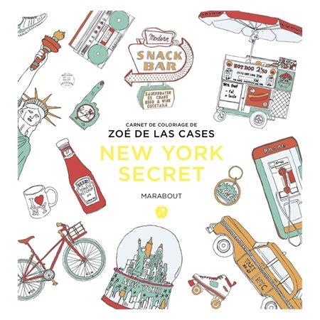 New York secret: coloriages