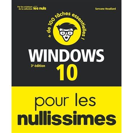 Windows 10 pour les nullissimes (3e ed.)
