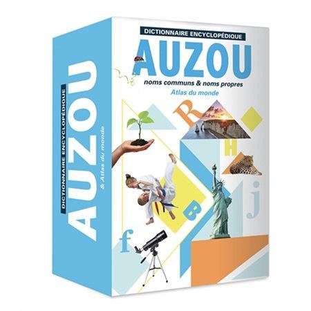 Dictionnaire encyclopédique Auzou et atlas du monde (2021)