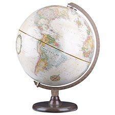 "Globe terrestre ""Hasting"" français"