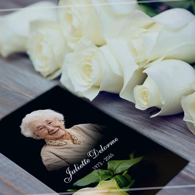 Carte mortuaire