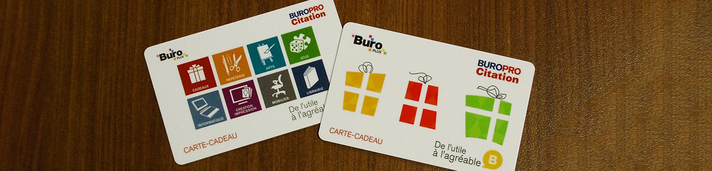 Cartes-Cadeaux Buropro Citation